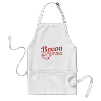 bacon - it's whats for dinner apron