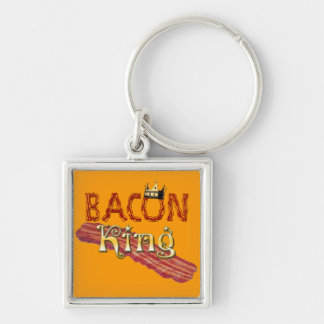 Bacon King with Crown Keychain