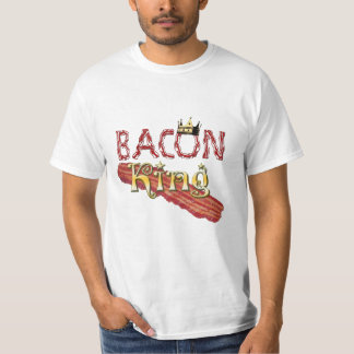 Bacon King with Crown T-Shirt