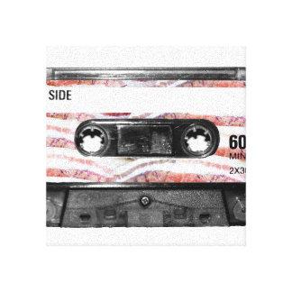 Bacon Label Cassette Canvas Print