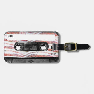 Bacon Label Cassette Tag For Luggage