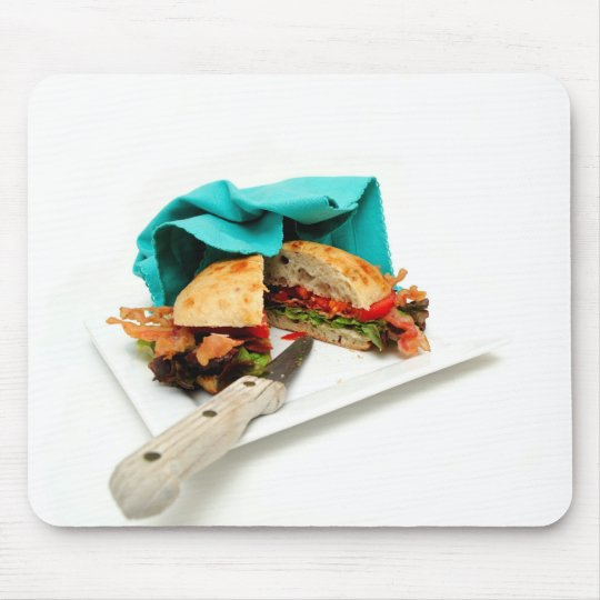 Bacon Lettuce And Tomato Mouse Pad
