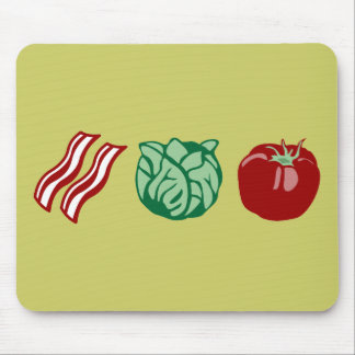 Bacon Lettuce & Tomato - The BLT! Mouse Pad