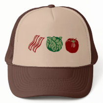 Bacon Lettuce & Tomato - The BLT! Trucker Hat