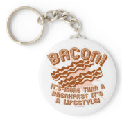 Bacon Lifestyle Keychains