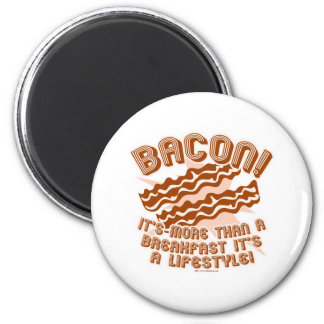 Bacon Lifestyle Refrigerator Magnets