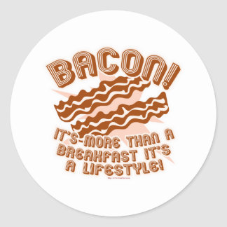 Bacon Lifestyle Sticker