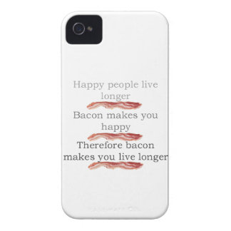Bacon Logic with Bacon iPhone 4 Case-Mate Case