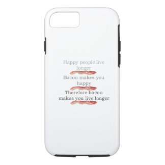 Bacon Logic with Bacon iPhone 7 Case
