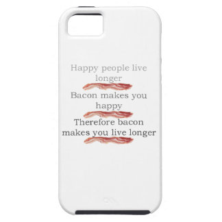 Bacon Logic with Bacon iPhone SE/5/5s Case