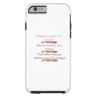 Bacon Logic with Bacon Tough iPhone 6 Case