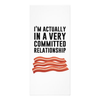 Bacon Love - A Serious Relationship Rack Card Template