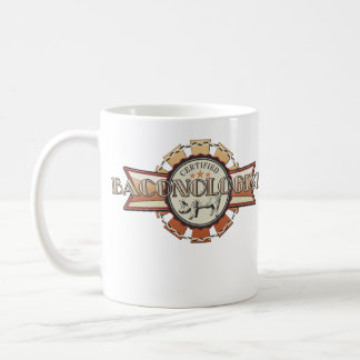 Bacon LOVE certified Baconologist Coffee Mug