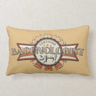 Bacon LOVE certified Baconologist Throw Pillow