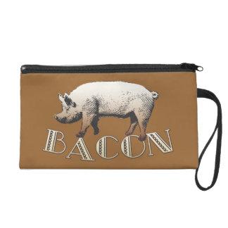 Bacon LOVE certified Baconologist Wristlet