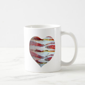 Bacon Love Heart Coffee Mug