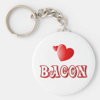 Bacon Love Key Chain