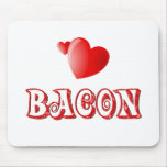 Bacon Love Mouse Pad