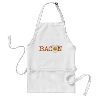Bacon LOVE on sunny side up! Adult Apron
