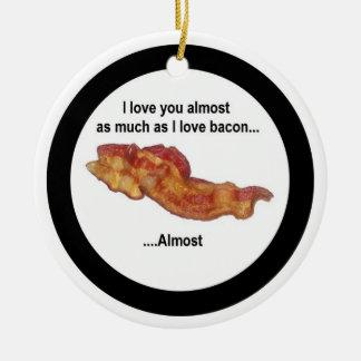 Bacon Love Ornament