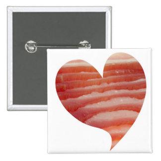Bacon Love Pinback Button