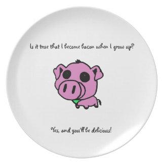 Bacon love plate