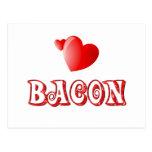 Bacon Love Postcard