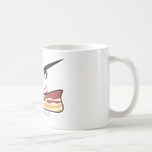 Bacon Lover Classic White Coffee Mug
