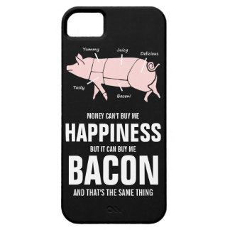 Bacon Lover  Funny Juicy Tasty Pink Pig iPhone SE/5/5s Case