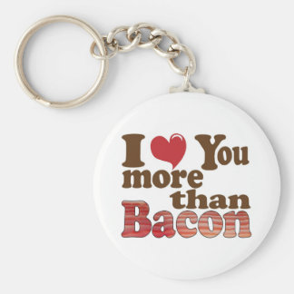 Bacon Lover Key Chain