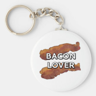 Bacon Lover Keychain