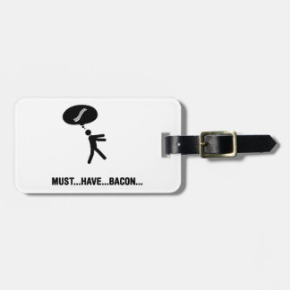 Bacon Lover Bag Tags