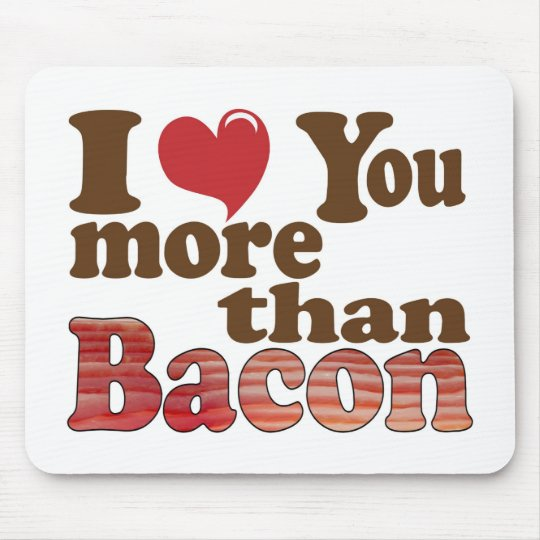 Bacon Lover Mouse Pad
