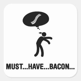 Bacon Lover Square Sticker