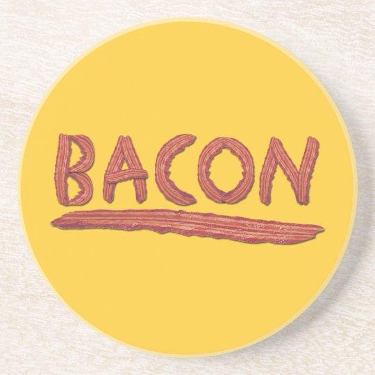 Bacon Lovers Drink Coaster