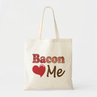 Bacon Loves Me Budget Tote Bag