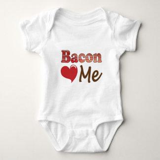 Bacon Loves Me Infant Creeper