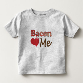 Bacon Loves Me Tee Shirts