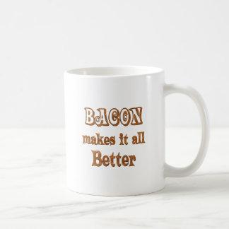 Bacon Makes It Better Classic White Coffee Mug