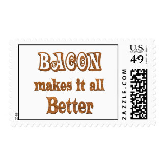 Bacon Makes It Better Stamps
