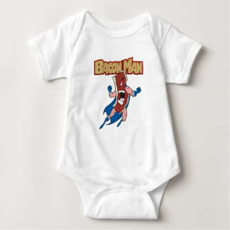 Bacon Man Baby Bodysuit