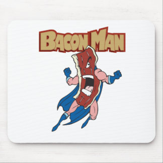 Bacon Man Mouse Pad