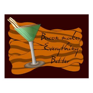 Bacon Martini Recipe Card
