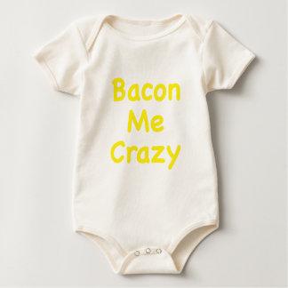 Bacon Me Crazy Baby Bodysuit