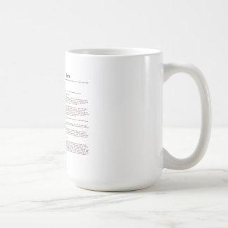 Bacon (meaning) coffee mug