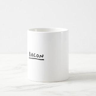 Bacon Classic White Coffee Mug