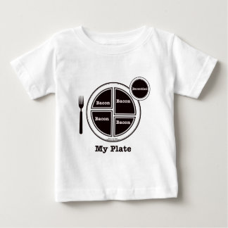 Bacon My Plate Baby T-Shirt