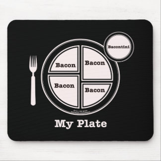 Bacon My Plate Mouse Pad