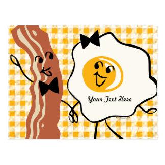 Bacon 'N Egg Lover Recipe Postcard