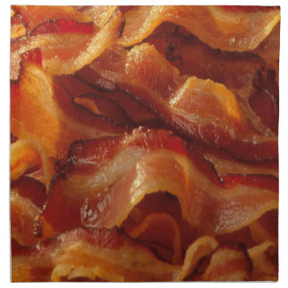 Bacon Napkins (Set of 4)